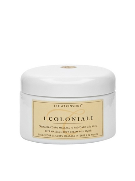 I Coloniali Deep Massage Body Cream with Myrrh, 6.9 oz.