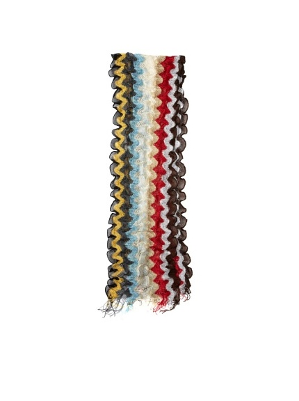 Missoni Women's Scalloped Wave Scarf, Multi