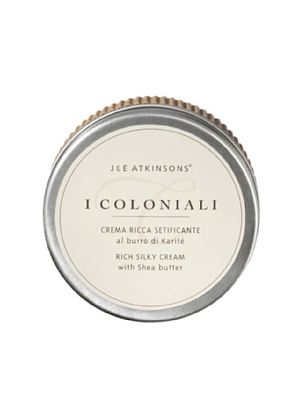 I Coloniali Rich Silky Cream with Shea Butter, 5 oz.
