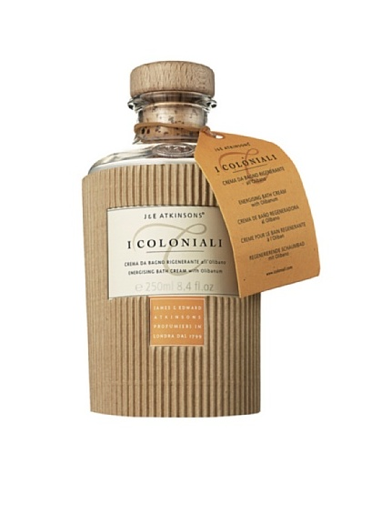 I Coloniali Relaxing Bath Cream with Bamboo and Energizing Bath Cream with Olibanum, 8.4 fl. oz. each
