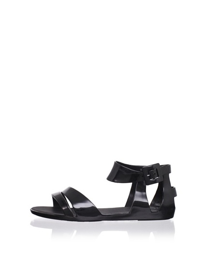 Melissa Women's Star Sandal (Black)