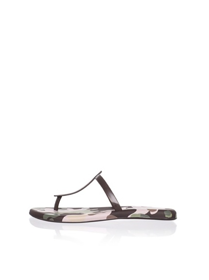 Melissa Women's Sin V Thong Sandal (Brown)