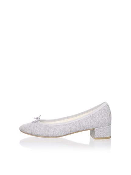 REPETTO Women's Camille Jersey Low Heel (Grey)