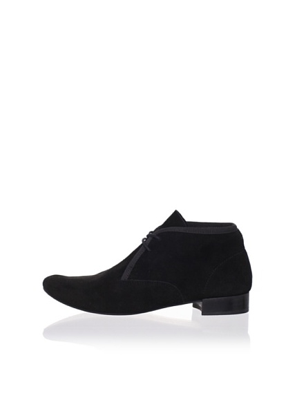 REPETTO Women's Nerd F Goat Derby Lace-Up (Black)