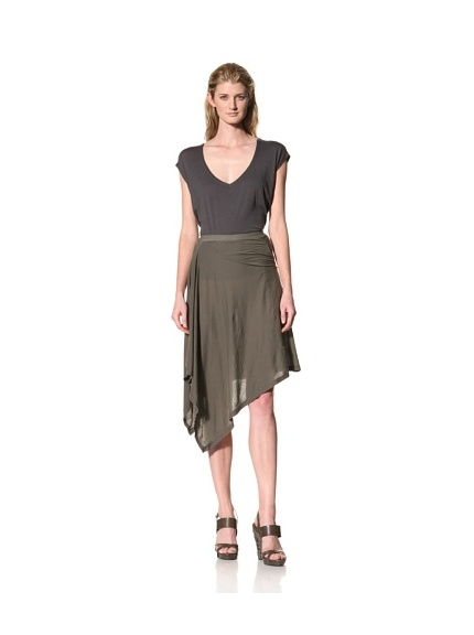 RICK OWENS Women's Skirt (Dark Dust)