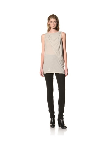 RICK OWENS Women's Caped Tank (Pearl)