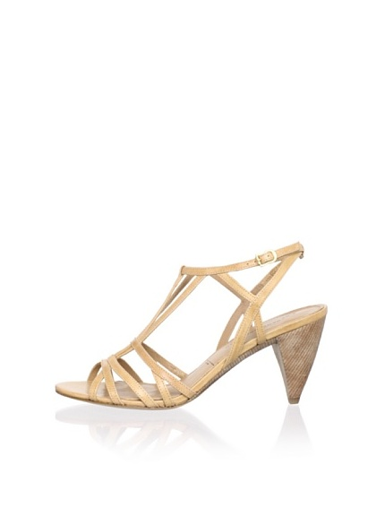 Sigerson Morrison Women's Vardon Ankle-Strap Sandal (Light Natural)