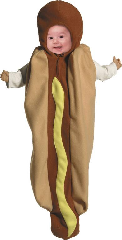 Hot Dog Bunting Infant Costume