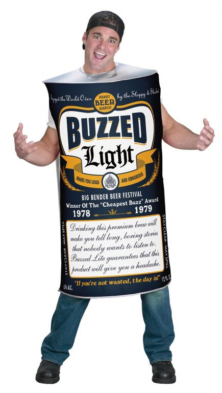Beer Can Adult Costume