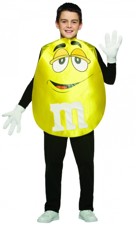Yellow M&M Costume