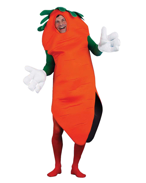 Carrot Adult and Child Costume
