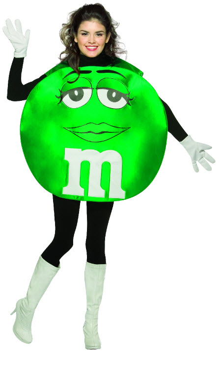 Green M&Ms Costume