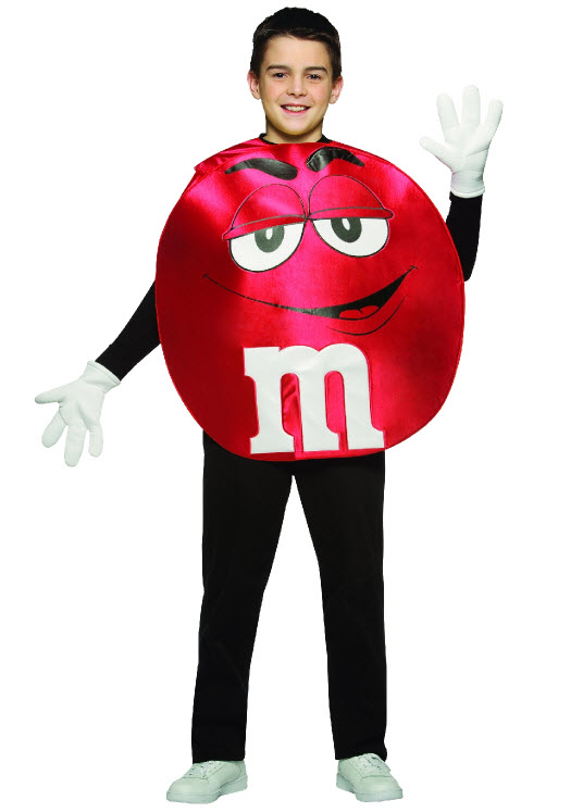 Red M&M Costume