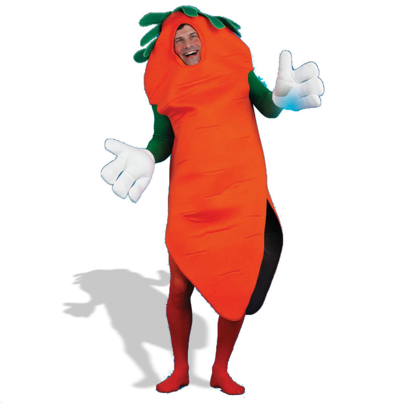 Carrot Adult Costume