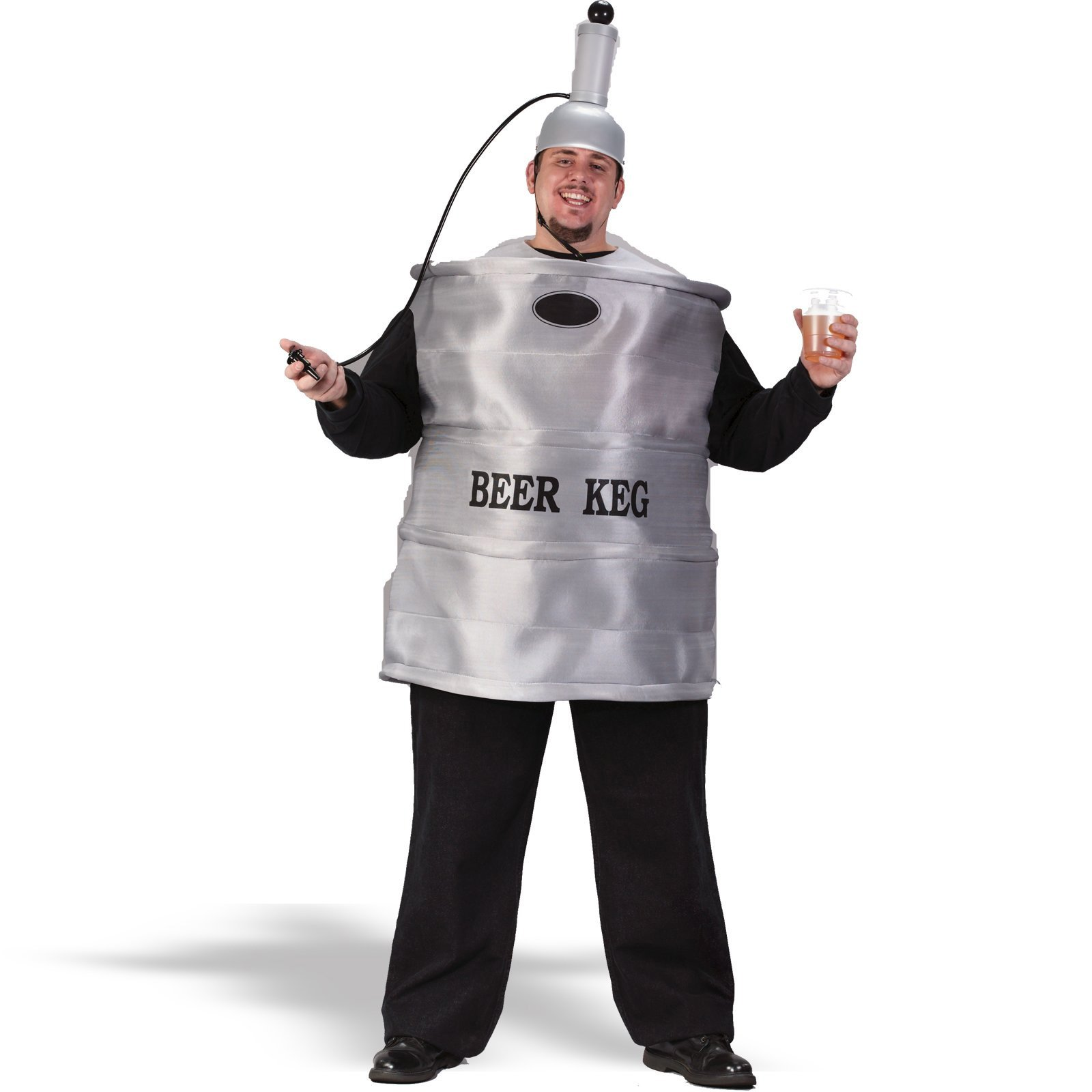 Beer Keg Adult Plus Costume