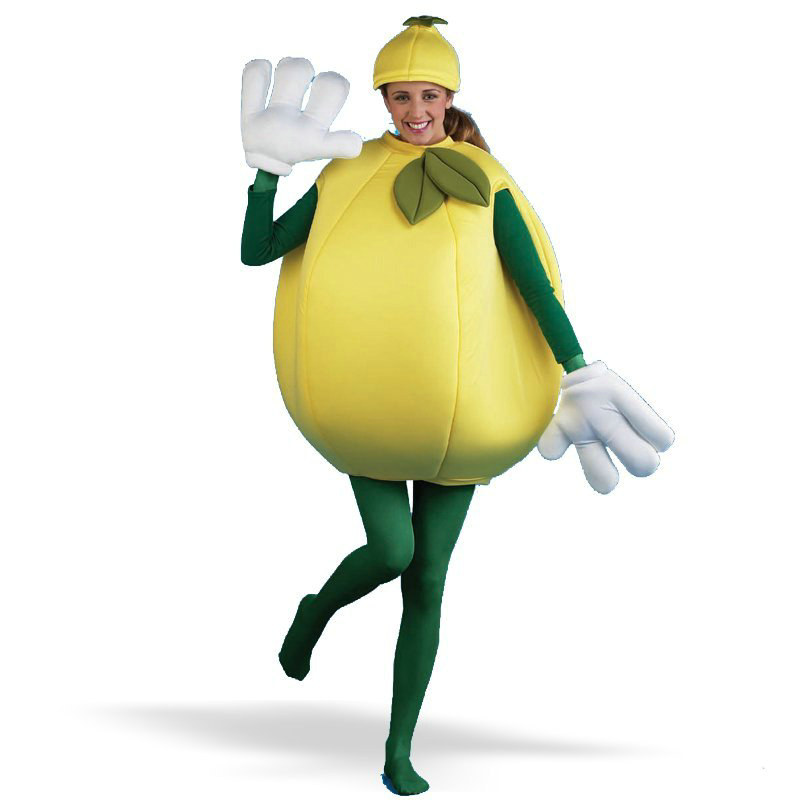 Lemon Adult Costume