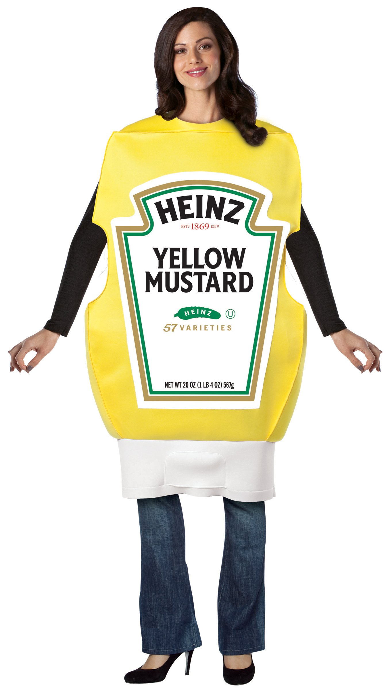 Heinz Mustard Squeeze Bottle Adult Costume