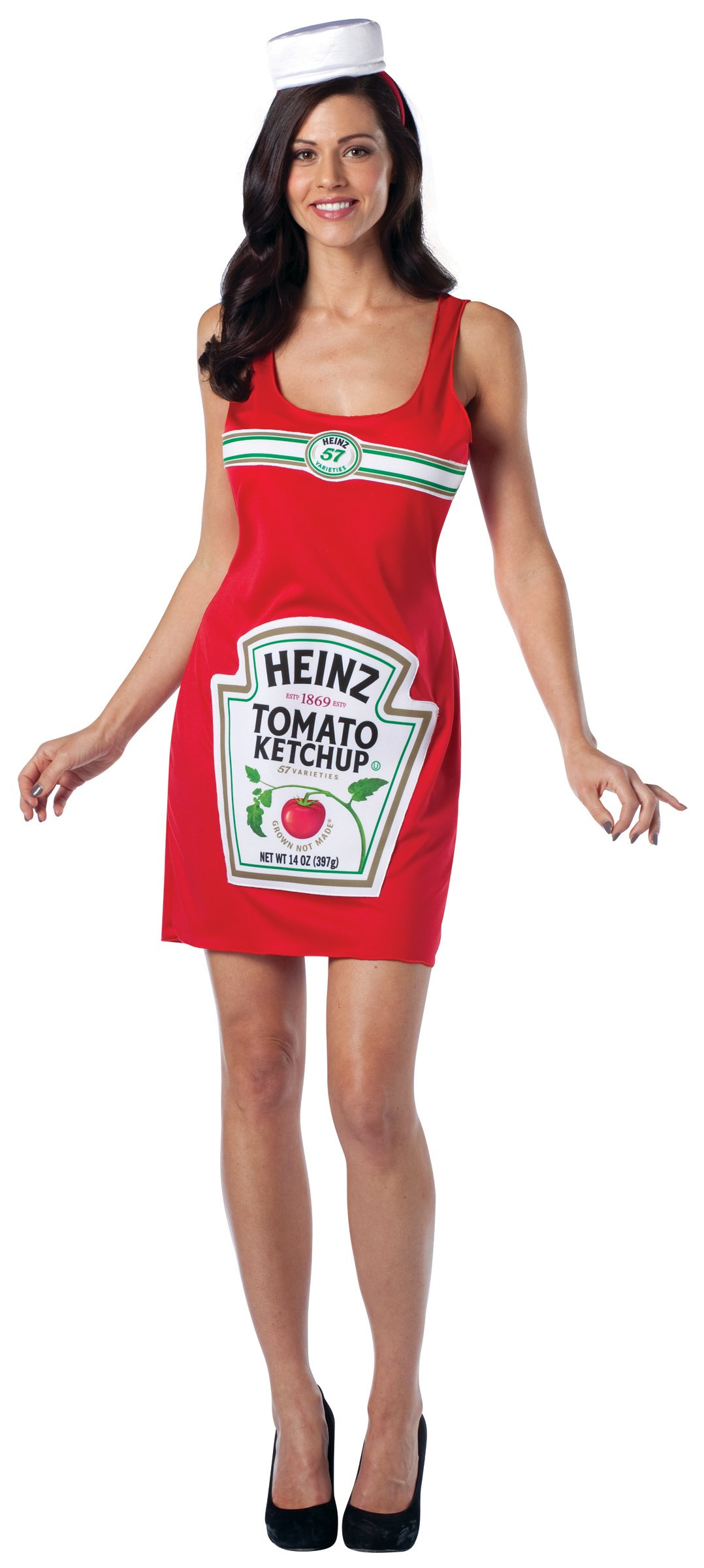 Heinz Ketchup Tank Dress Adult Costume