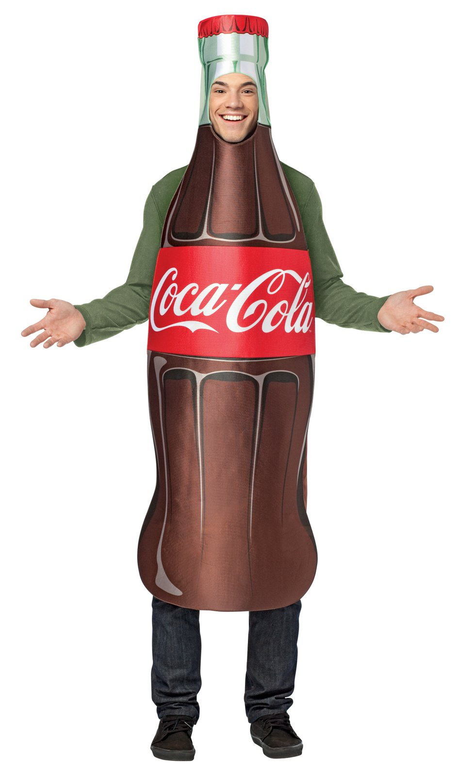Coca-Cola - Bottle Tunic Adult Costume