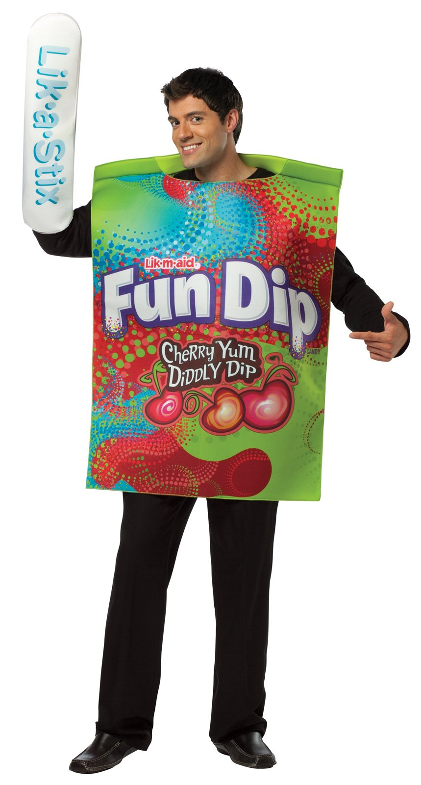 Fun Dip Wrapper Adult Costume