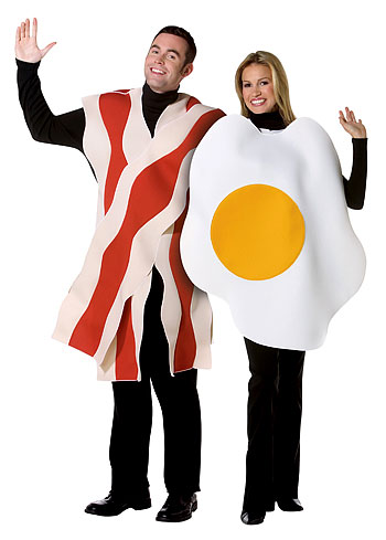 Bacon and Eggs Costume
