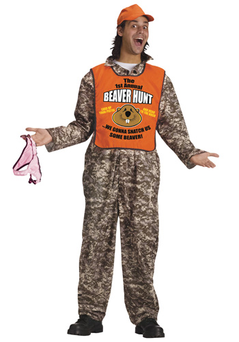 Adult Beaver Hunter Costume