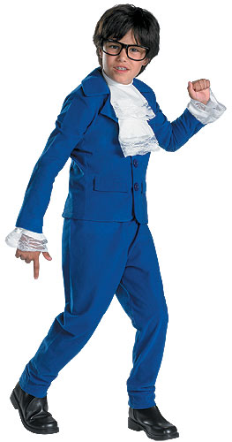 Child Austin Powers Deluxe Costume