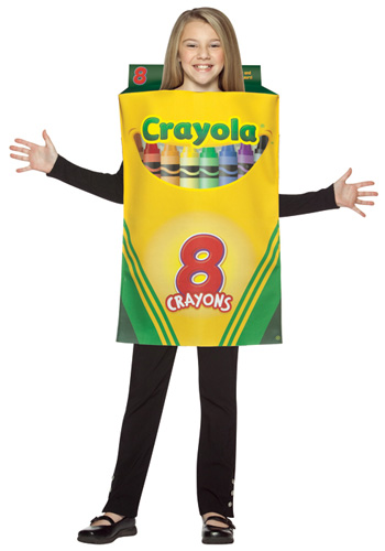 Kids Crayon Box Costume