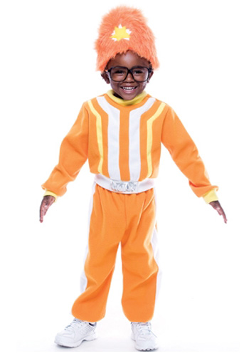 Deluxe Toddler DJ Lance Rock Costume