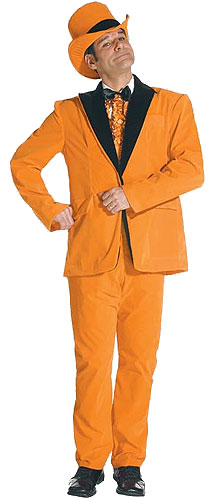 Orange Dimwit Costume