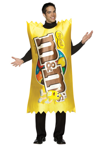 M&M Peanut Wrapper Costume