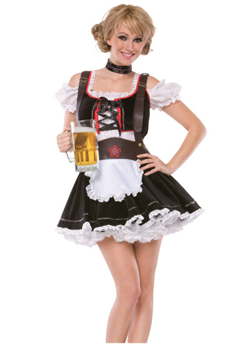 Plus Sexy Beer Maiden Costume