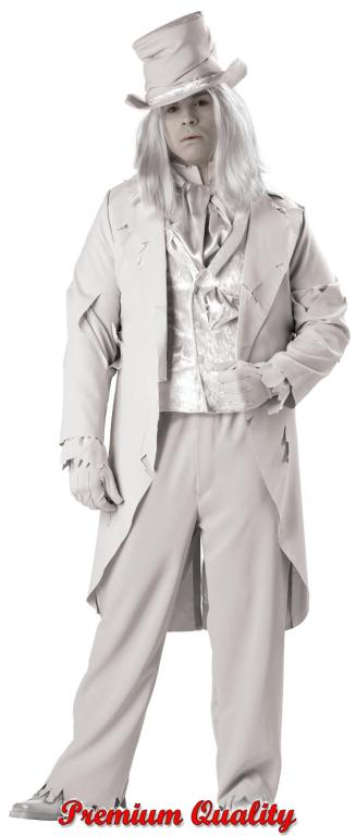 Ghostly Gent Plus Size Adult Costume