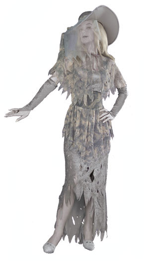 Ghostly Gal Adult Costume