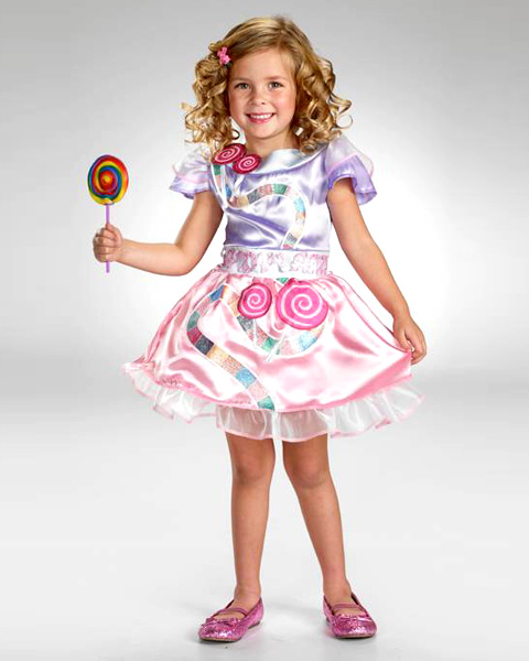 Classic Candyland Girls Costume