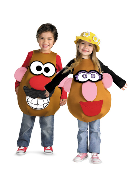 Kids Mr Or Mrs Potato Head Deluxe Costume In Stock About