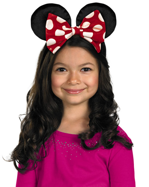 Girls Disneys Minnie Mouse Ears Boutique