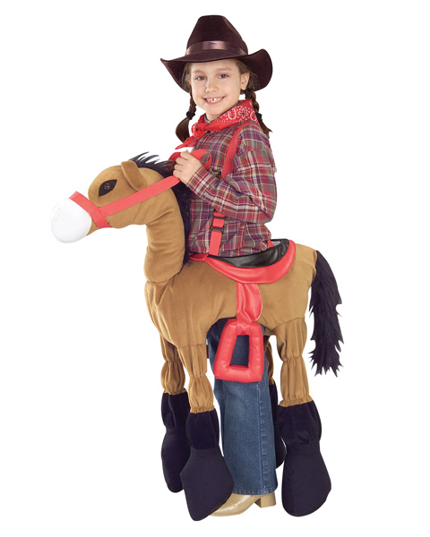 Brown Horsey Costume for Child