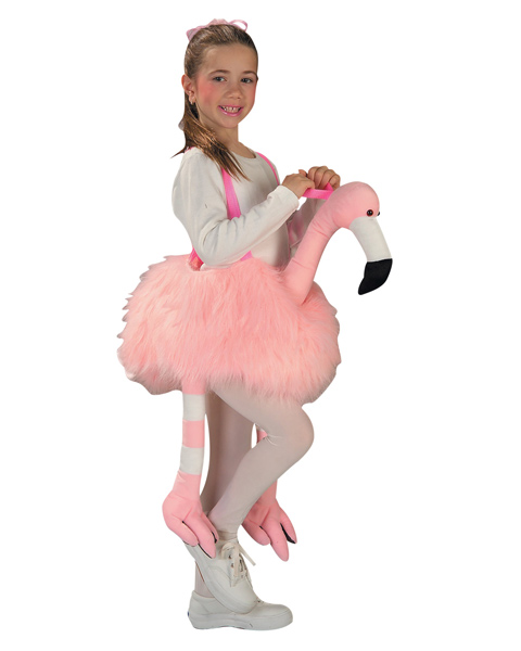 Flamingo Ride Costume for Child