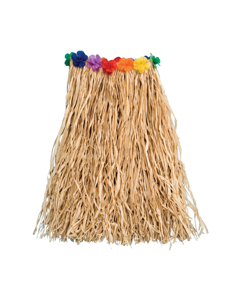 Raffia with Flowers 22 Inch Costume for Child