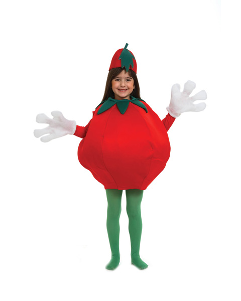 Unisex Childs Tomato Costume