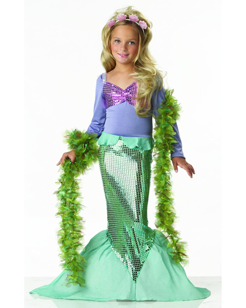 Child Little Mermaid Costume
