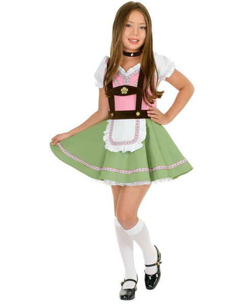 Childs Gretchen Swiss Alps Girl Costume
