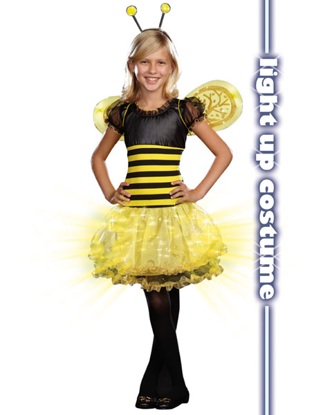Girls Busy Lil' Bee Child Costume