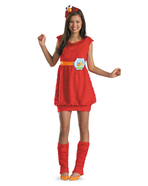 Sesame Street Elmo Girls Costume