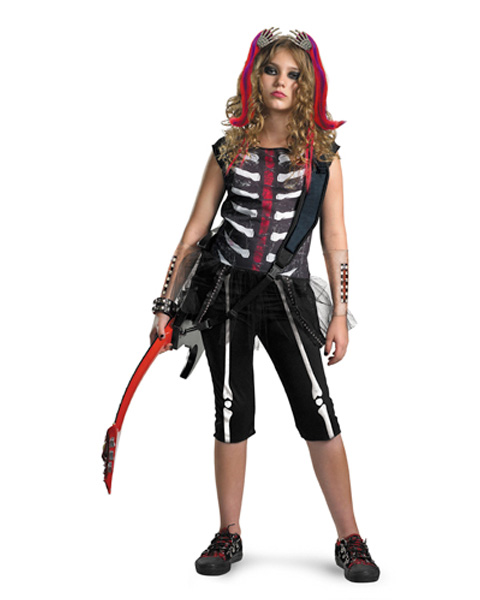 Misfit Punk Girls Costume
