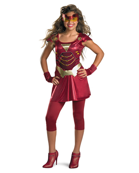 Ironette Girls Costume