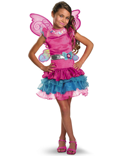 Deluxe Barbie Fairy Secret Girls Costume