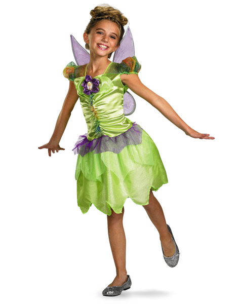 Classic Disney Tinker Bell Rainbow Girls Costume