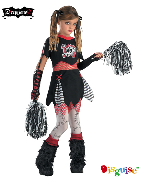 Cheerless leader Costume for Girl